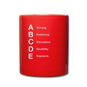 ABCDE - Cup - Tasse einfarbig