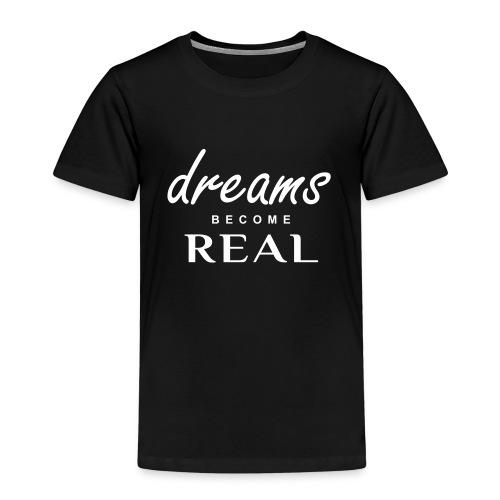 Kids - Dreams Tee - White logo - Kids' Premium T-Shirt