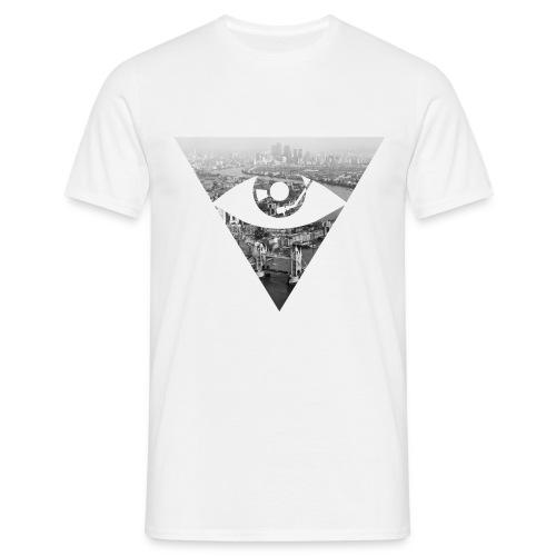 Mens - Skyline Tee - White logo - Men's T-Shirt