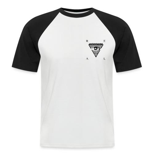 Mens - Baseball Tee - Black Logo - Men's Baseball T-Shirt