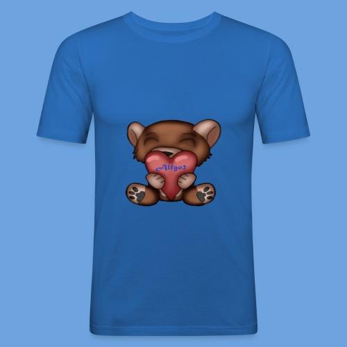 Alf T-Shirt Bär - Männer Slim Fit T-Shirt