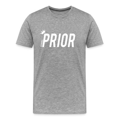 Prior Men's Tee - Italic Logo - Men's Premium T-Shirt