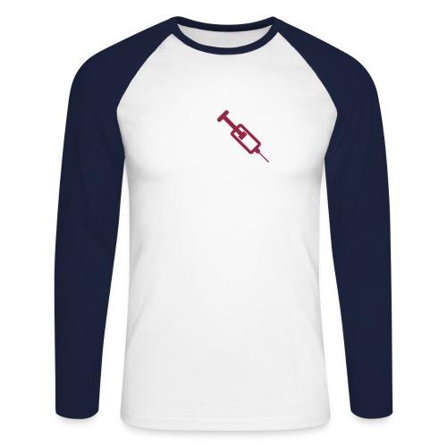 spritze - Männer Baseballshirt langarm