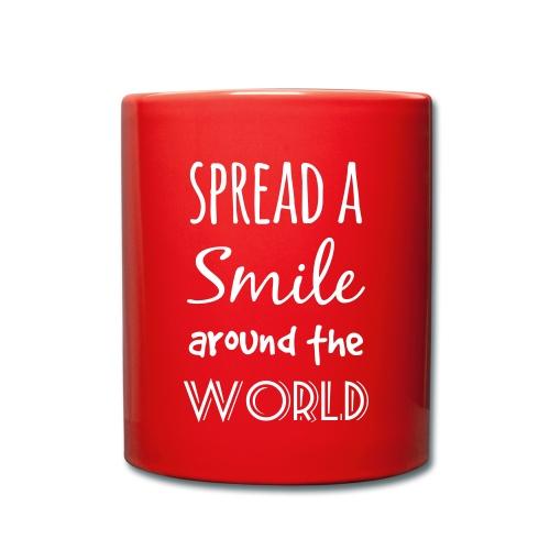 Spread a Smile Tasse - Tasse einfarbig