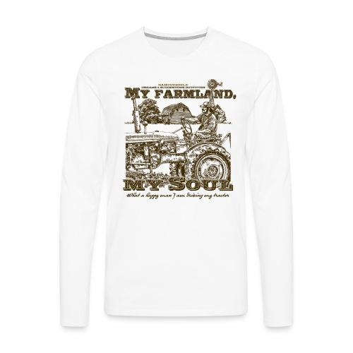 farmland - Maglietta Premium a manica lunga da uomo
