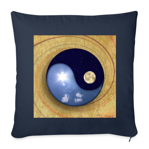 day & night - Sofa pillow cover 44 x 44 cm