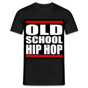 Old School Hip Hop - T-skjorte for menn