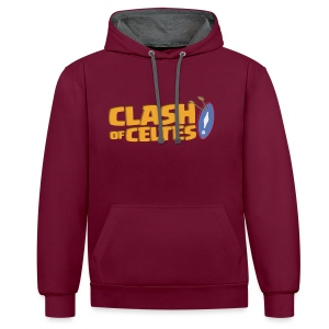 Sweat Clash of Celtes - Sweat-shirt contraste