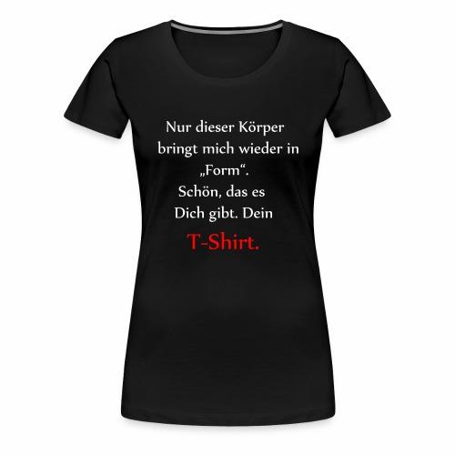 T-Shirt auf Körper