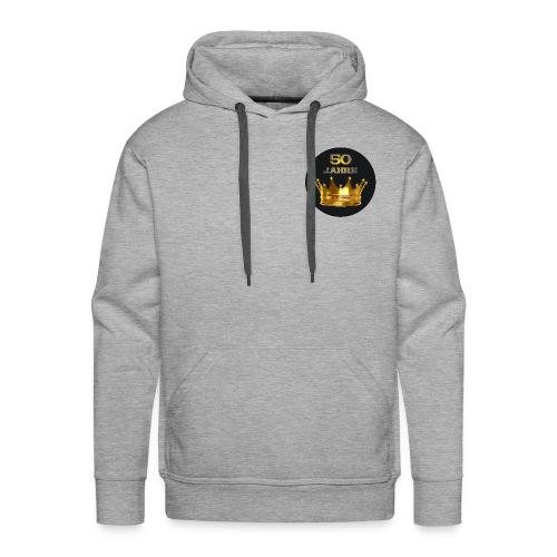 50 Jahre-Design 8 - Männer Premium Hoodie