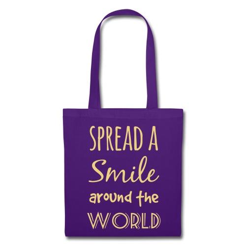 Spread a Smile - Stoffbeutel