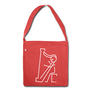 Harpist - Shoulder Bag made from recycled material