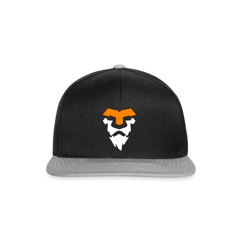 Rapid Clan Old Logo SnapBack (Black/Grey) - Snapback Cap