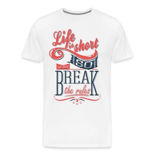 Lifes to Short - Mens - Men's Premium T-Shirt