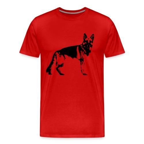 Deutscher Schäferhund / Hund / Schäferhund - Männer Premium T-Shirt