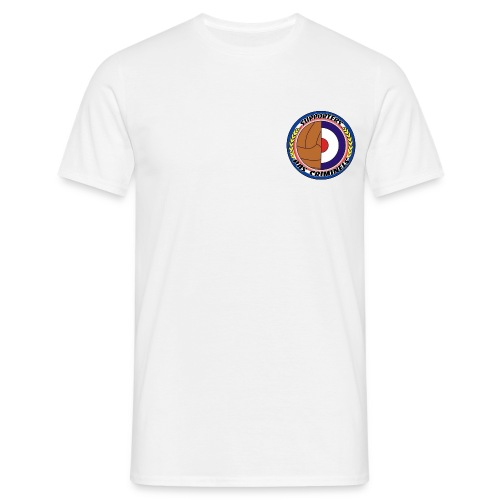 Tee-shirt blanc Supporters pas criminels - T-shirt Homme
