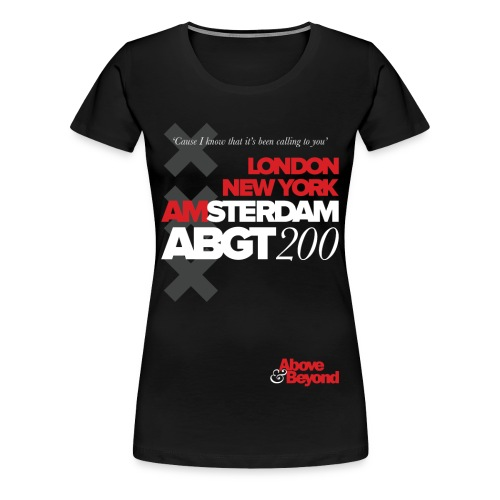 TFB | ABGT200 - Women's Premium T-Shirt