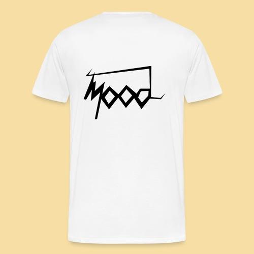 T-shirt blanc mood graffiti homme - T-shirt Premium Homme