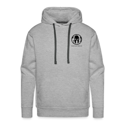 Spartans Berlin Grey/Black - Männer Premium Hoodie