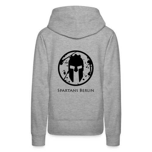 Spartans Berlin Grey/Black - girls - Frauen Premium Hoodie