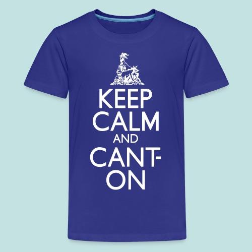 CantOn - Teenage Premium T-Shirt