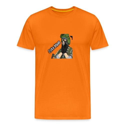 CSGOAPPAREL- Cyka Blyat Rage | ORANGE - Men's Premium T-Shirt