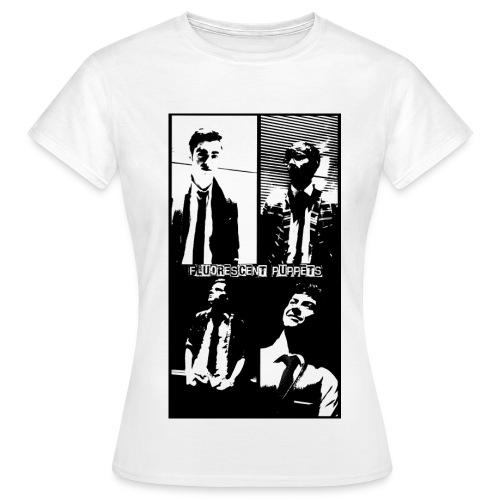 FP Black and White Headshots Shirt Womens - Women's T-Shirt