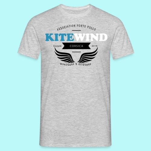 tee shirt gris aigle  - T-shirt Homme
