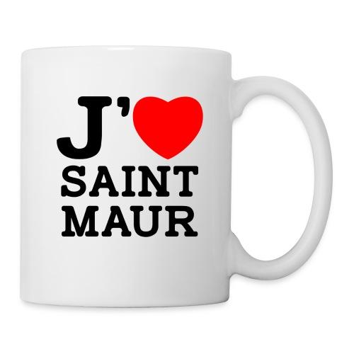 Tasse Mug J'aime Saint-Maur - Mug blanc