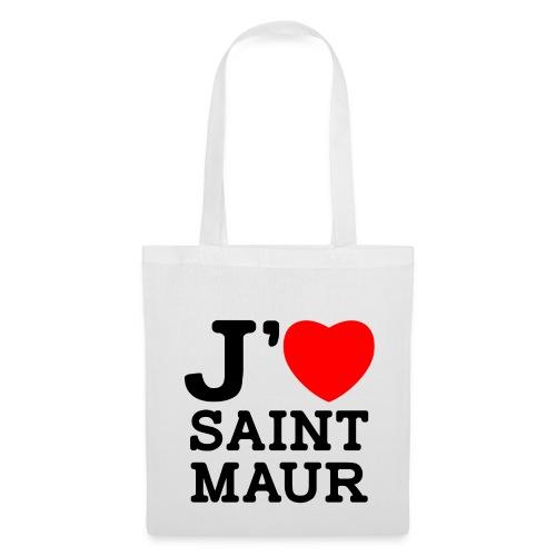 Tote Bag J'aime Saint-Maur - Tote Bag