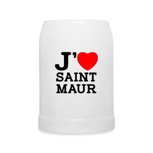 Chope J'aime Saint-Maur - Chope en céramique
