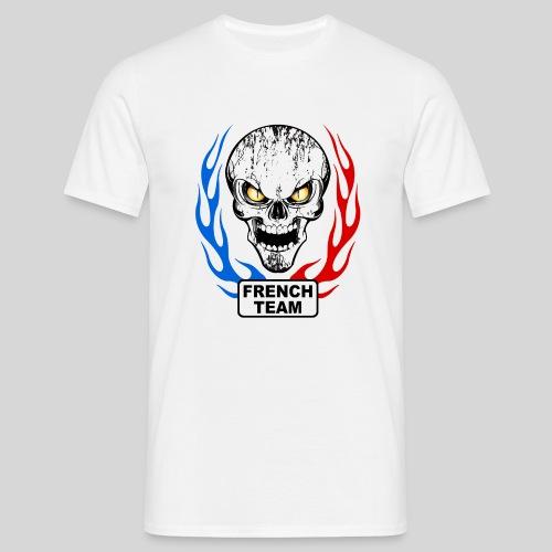 Team France Skull - T-shirt Homme
