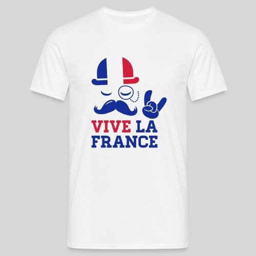 Vive la France - T-shirt Homme