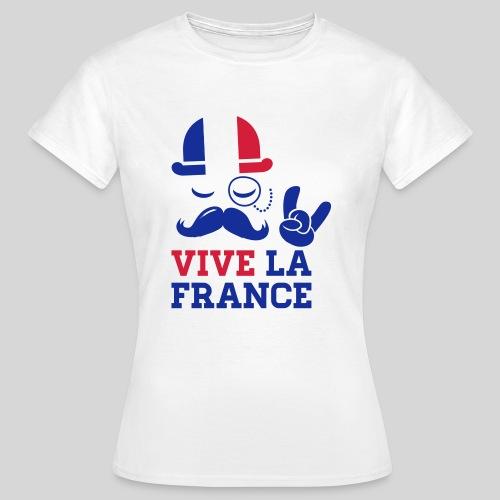 Vive la France - T-shirt Femme