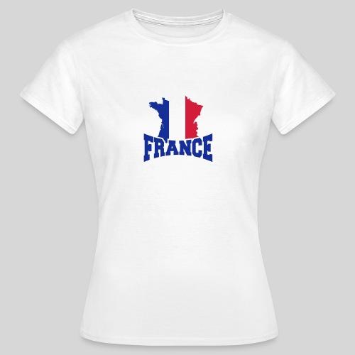 Logo France carte - T-shirt Femme