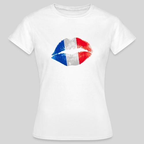 French Kiss - T-shirt Femme