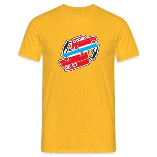 T-Shirt Homme R4,4L et Estafette - Logo vehicules-anciens.fr - T-shirt Homme