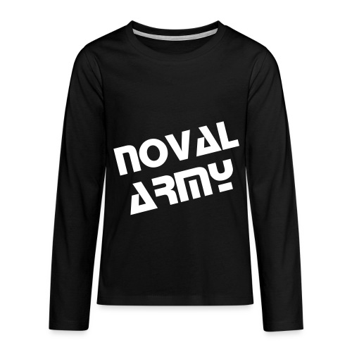 Teenager's Noval Army T-Shirt - Teenagers' Premium Longsleeve Shirt