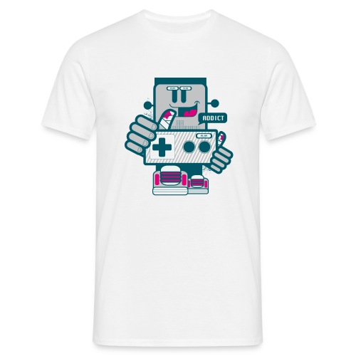Gamer Addict - T-shirt Homme
