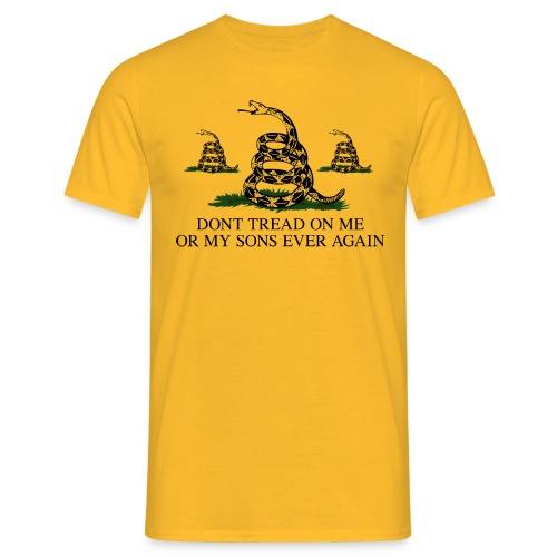 Don't Tread on My Sons (Men) - Men's T-Shirt