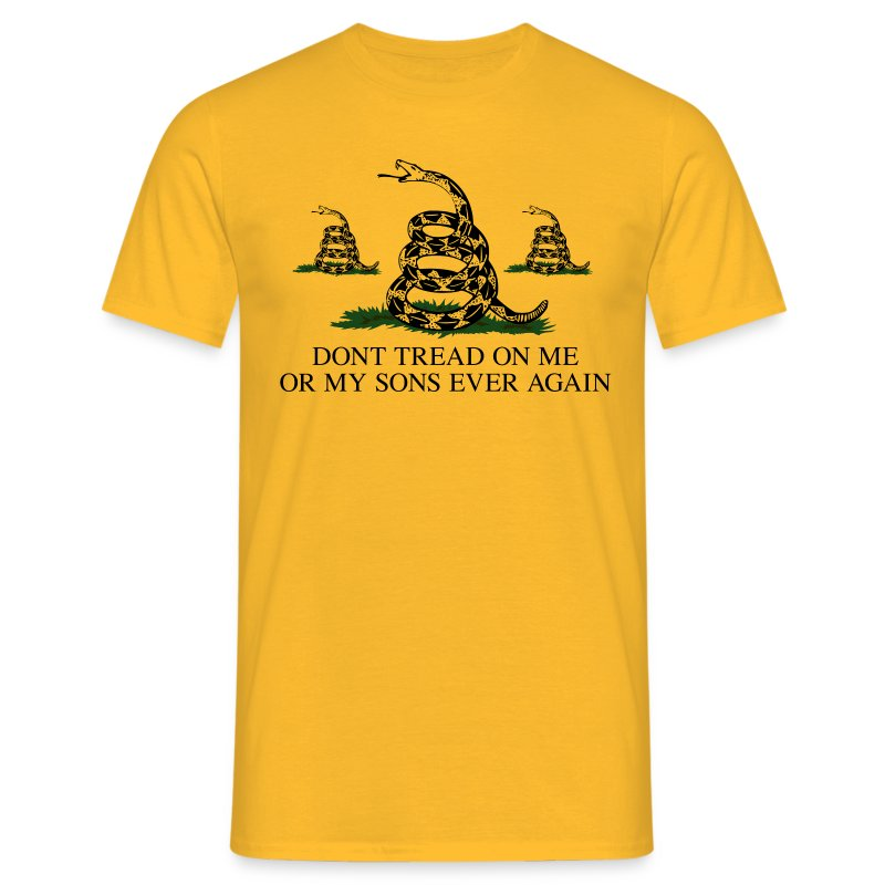 Don't Tread on My Sons (Men) - Men's T-Shirt