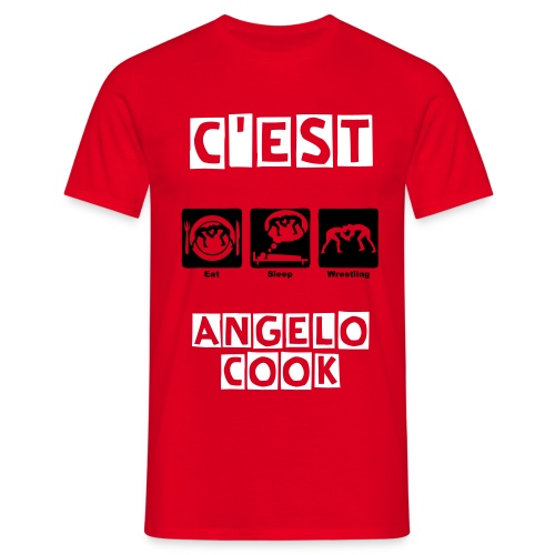 T-shirt | ANGELO COOK (Clip) - T-shirt Homme