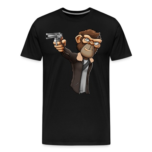 CBMonkey Grimes Shirt - Men's Premium T-Shirt