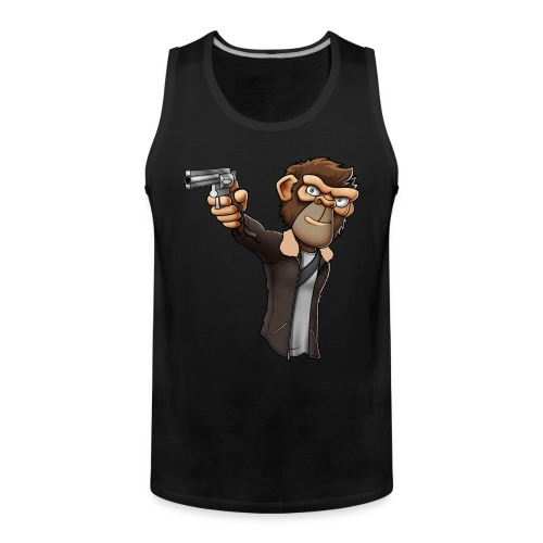 CBMonkey Grimes Vest Top - Men's Premium Tank Top