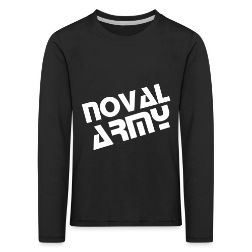 Kid's Long Sleeve Noval Army Shirt - Kids' Premium Longsleeve Shirt