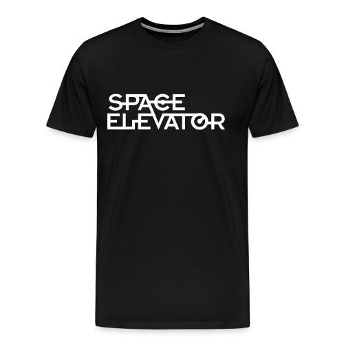 Space Elevator T-Shirt. (Male)  - Men's Premium T-Shirt