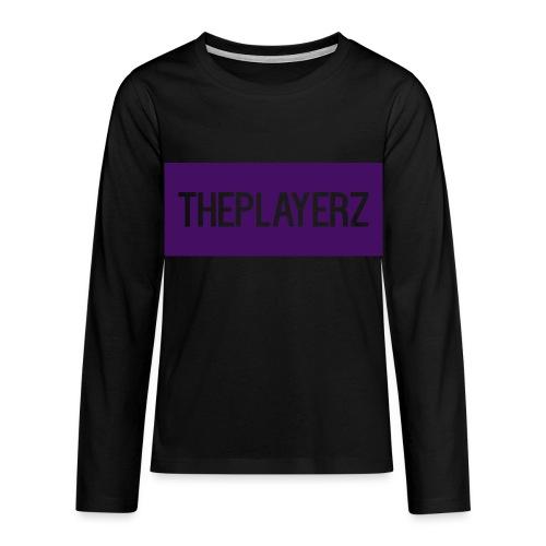 The PlayerZ Long sleeve Top - Teenagers' Premium Longsleeve Shirt