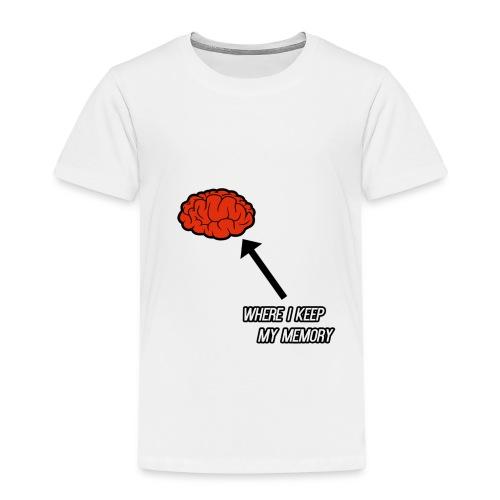 Where I Keep My Memory Shirt - Kids' Premium T-Shirt