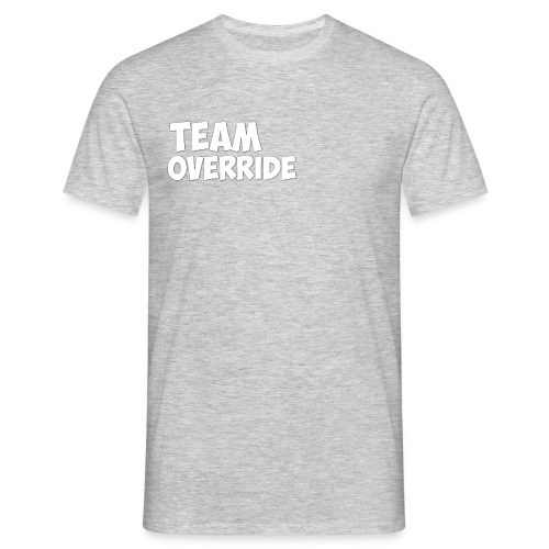 Team Override grey T-Shirt - Men's T-Shirt