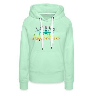 Adventure CL - Vrouwen Premium hoodie